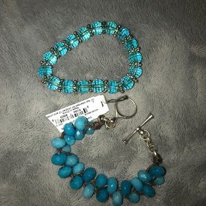 Accessories - Blue/Turquoise Bracelets